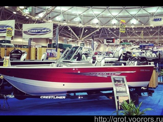 Катер рыболовный Crestliner (США)